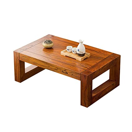 Amazon.com: AA Solid Wood Small Table Creative Japanese ...