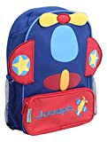 "Stephen Joseph 12.75"" Personalized Embroidered Children's Sidekicks Backpack (Airplane)"