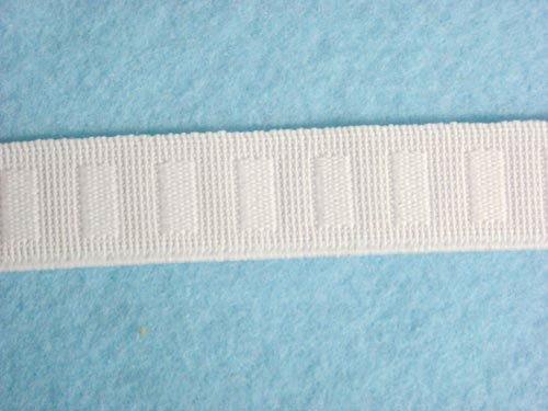Roll Non Flat (Wholesale Flat Woven Non Roll Elastic - White 3/4
