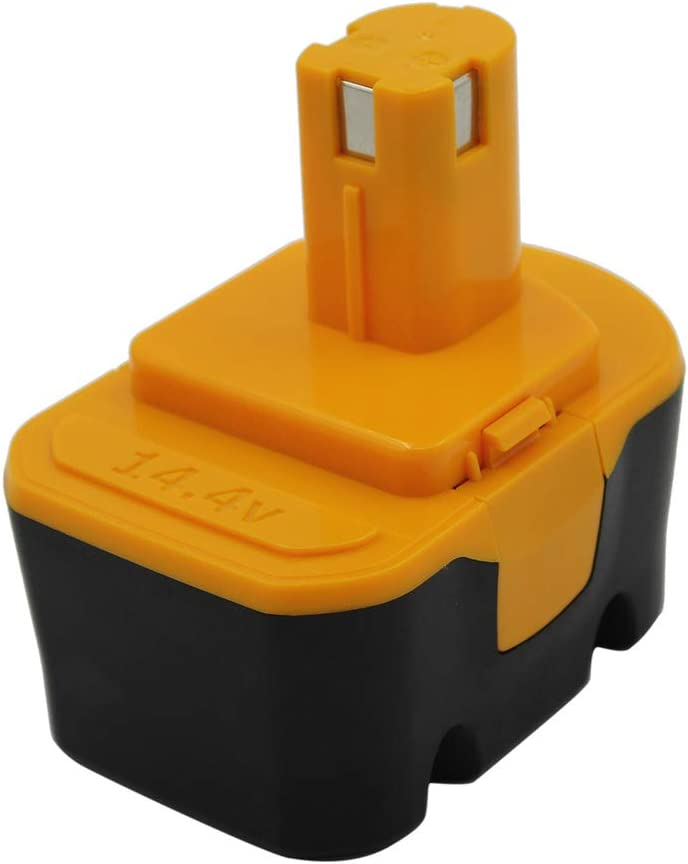 KINSUN Reemplazo Herramienta Eléctrica Batería 14.4V 2.0Ah Para Ryobi Taladro Inalambrico Destornillador 130224010 130224011 130281002 1314702 1400144 1400655 1400656 1400671 4400011 HP1441 RY6201