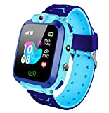 Kids Smart Watch Phone Waterproof - Locator with SOS Anti-Lost Alarm Touch Smartwatch
