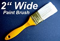 """BRAND NEW 2"""" PAINT BRUSH Oil/Water Base Painter PAINTING Supply WOODEN HANDLE"""