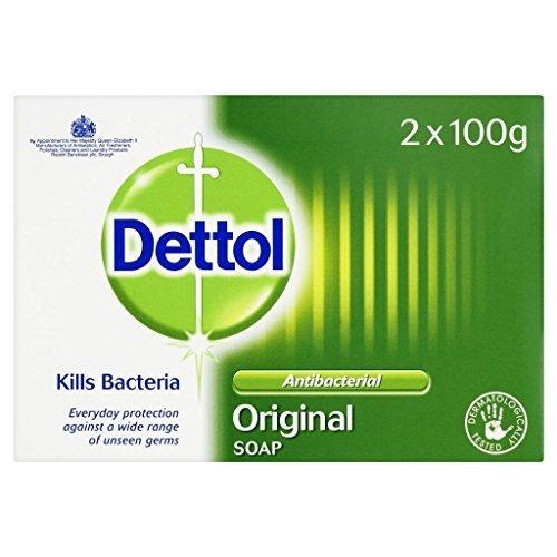 Dettol Soap Original Antibacterial 100grams - Pack of 2