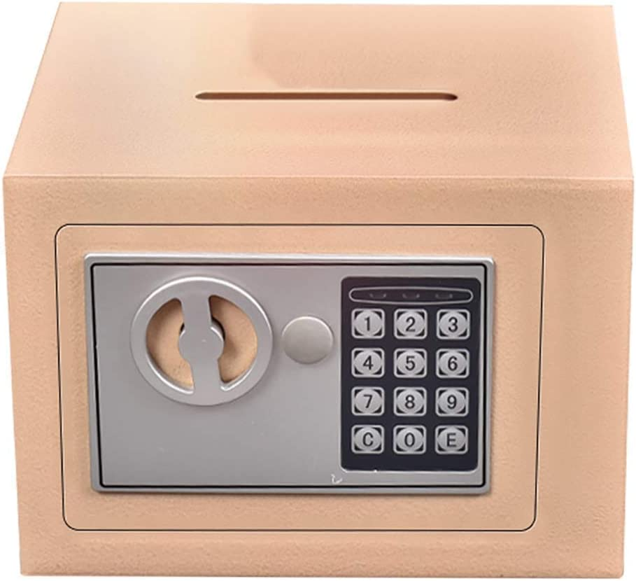 Depósito Digital de Seguridad Caja de Seguridad con la ranura de gota - Caja de dinero pequeña for los niños, Girls & Boys - regalos de cumpleaños for niños: Amazon.es: Bricolaje y