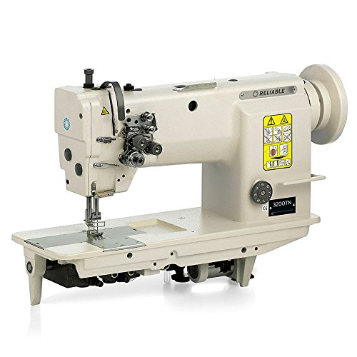 Reliable 3200TN Two Needle Lockstitch, Needle Feed Sewing Machine with SewQuiet ()
