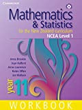 Mathematics and Statistics for the New Zealand Curriculum Year 11 Workbook and Student CD-ROM, Anna Brookie and Anne Lawrence, 0521134617