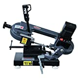 Kaka Industrial Mini Metal Cutting Band Saw, Variable Speed Bandsaw (BS-85)