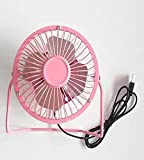 Personal Mini Fan with USB Connection PC and Mac Compatible- colors vary