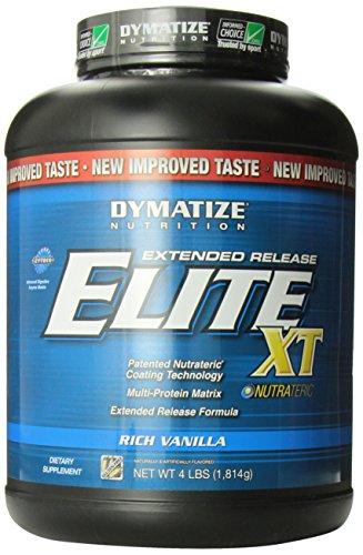 Dymatize Elite XT Dietary Supplement, Rich Vanilla, 4 Pound (Pack of 6)
