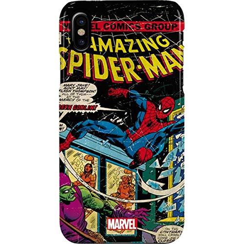 Amazon Com Spider Man Iphone Xs Max Case Marvel Disney Skinit