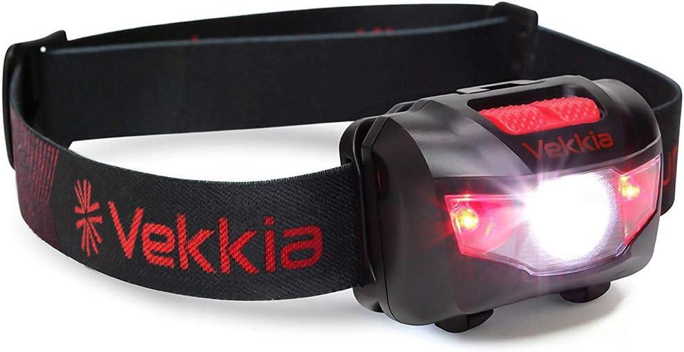 Blanco y Rojo LED LuminoLite Ultra Brillante IPX6/Resistente al Agua 160/l/úmenes CREE LED Linterna con 5/Modos