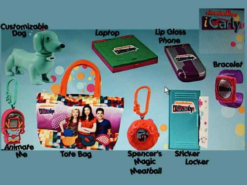 McDonald's Happy Meal Nickelodeon iCarly Customizable for sale  Delivered anywhere in USA