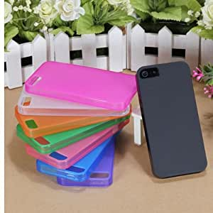 Soft TPU GEL Silicone Case Cover Skin for iPhone 5 5th Gen 5S