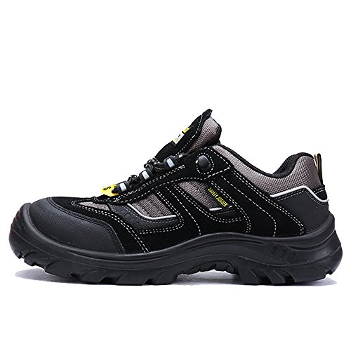 Safety Black LARNMERN Steel Men's Shoe Work Toe For g0ngOX