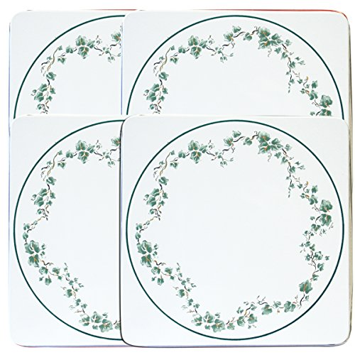 Corelle Coordinates by Reston Lloyd Square Gas Stovetop Burner Covers, Set of 4, Callaway