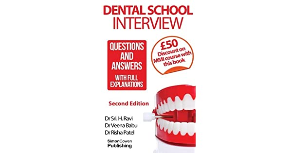 Amazon.com: Dental School Interview: Questions and answers ...