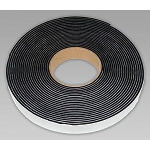 Tira adhesiva de esponja de goma de neopreno (20 mm x 10 mm x 5 m) para la intemperie y cancelación de sonido