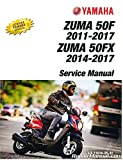 LIT-11616-25-31 2012-2017 Yamaha YW50F Zuma Scooter Service Manual