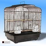 Lazaiza Bird Cage Black Budgie Canary