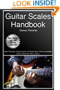 #4: Guitar Scales Handbook: A Step-By-Step, 100-Lesson Guide to Scales, Music Theory, and Fretboard Theory (Book & Videos) (Steeplechase Guitar Instruction)