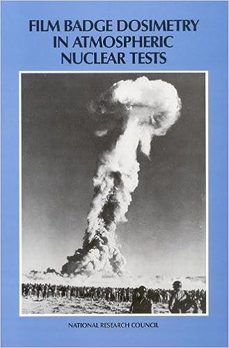 Buy Lalos Film Badge Dosimetry In Atmospheric Nuclear Tests Pr