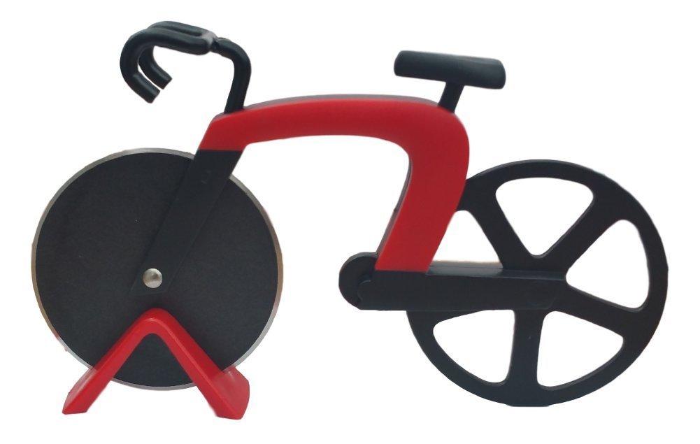 Cucina Vita Bicycle Pizza Cutter Red NV-04670