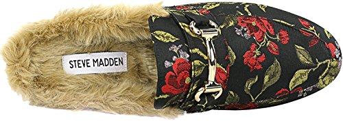 Steve Madden Womens Jill Slip-on Loafer Rode Multi