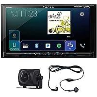 Pioneer MVH-2300NEX 7 2Din DVD Apple Play Sirius XM + Free ND-BC8 Camera & Audiocon Earphone