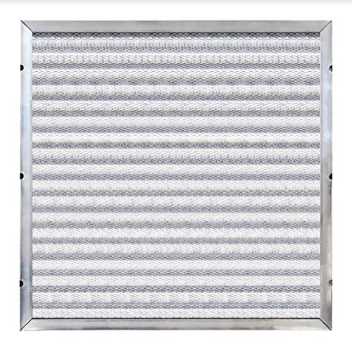 (Trophy Air Reusable Air Filter 16x25x1 - MERV 8 Washable Furnace Filter - Premium Quality Aluminum & Polyester - Antimicrobial Coating - Standard & Special Dimensions)
