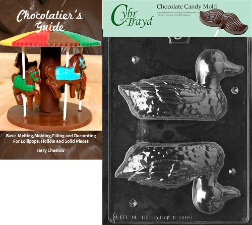 Cybrtrayd Bk-A115 3D Duck Animal Chocolate Candy Mold by CybrTrayd