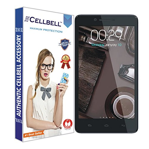 CELLBELL Shatterproof, Glossy-Finish Screen Protector for Micromax Canvas Doodle 3 A102 - Transparent