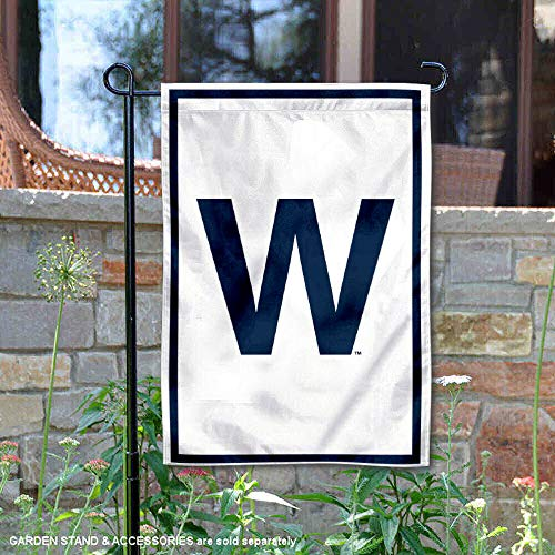 Yard Chicago Cubs - Chicago Cubs W Win Double Sided Garden Flag