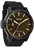 Nixon Men's Chronicle Watch One Size Black