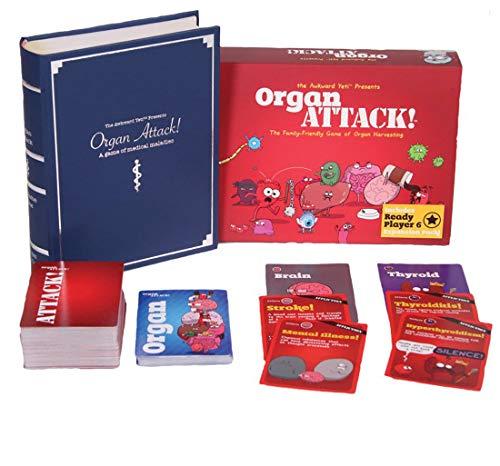 - OrganATTACK! Tabletop Card Game by The Awkward Yeti