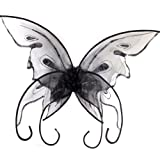 Fun World Women's Butterfly Wings, Black, Standard
