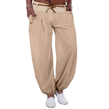 Pantalones Largos Casual de Mujer SUNNSEAN Estilo Casual ...