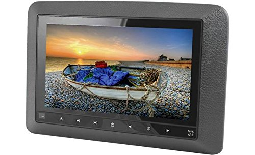 """Accele DVD9850 9"""" LCD headrest monitor with DVD player"""