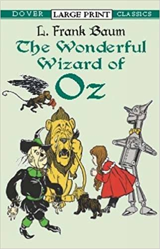 Wonderful Wizard of Oz (Dover large print classics) by L. Frank Baum (2003-03-28)