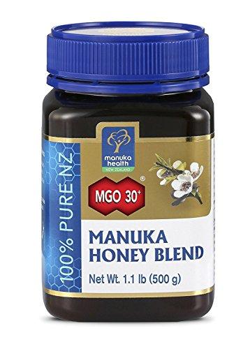 (MANUKA HEALTH - MGO 30+ Manuka Honey Blend, 100% Pure New Zealand Honey, 1.1 lbs (500 g))