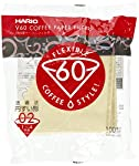 Hario Box of Paper Filter for 01 Dripper, 7.1 by 2.1 by 8.3-Inch, 100 Sheets, Misarashi made by Hario