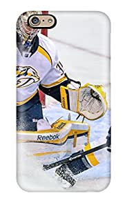New Snap-on DanRobertse Skin Case Cover Compatible With Iphone 6- Nashville Predators (23)