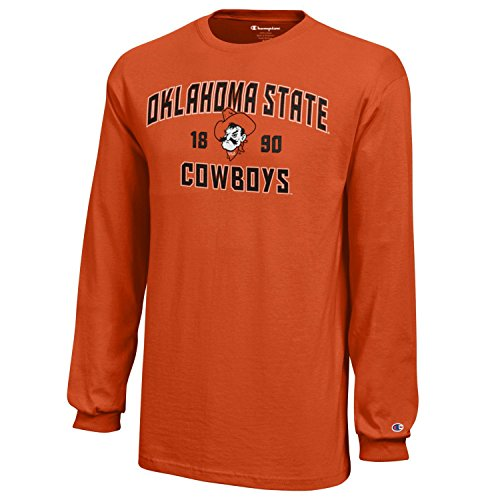 NCAA Champion Boy's Long Sleeve Jersey T-Shirt, Oklahoma State Cowboys, ()