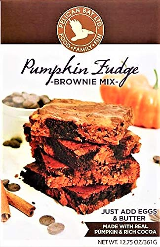 (Pumpkin Fudge Brownie Mix! Made With Real Pumpkin And Rich Cocoa! One 12.75 Ounce Box! The Perfect Snack For The)
