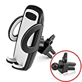 Image of BE Universal Smartphones Car Air Vent Mount Holder Cradle Compatible with iPhone 7 7 Plus SE 6s 6 Plus 6 5s 5 4s 4 Samsung Galaxy S6 S5 S4 LG Nexus Sony Nokia and More (Black)