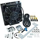 EMPI 00-9248-0 96 Plate Oil Cooler Kit, w/Electric Fan, VW, BAJA, SAND RAIL