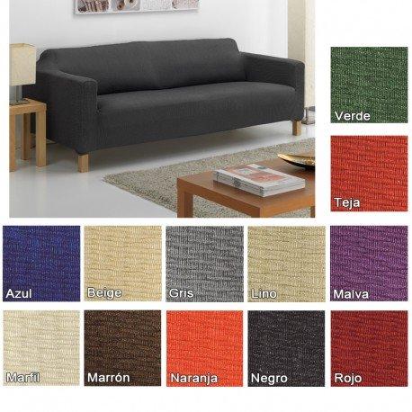 Funda Elástica Túnez para Sofá KARLSTAD de IKEA, Color Lino ...