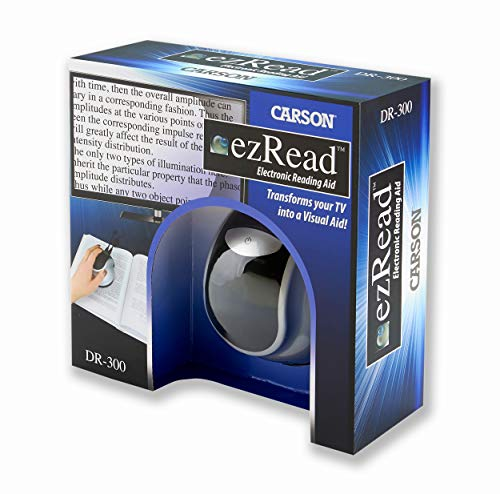 Carson DR-300 EZRead Electronic Digital Reading Aid Magnifier