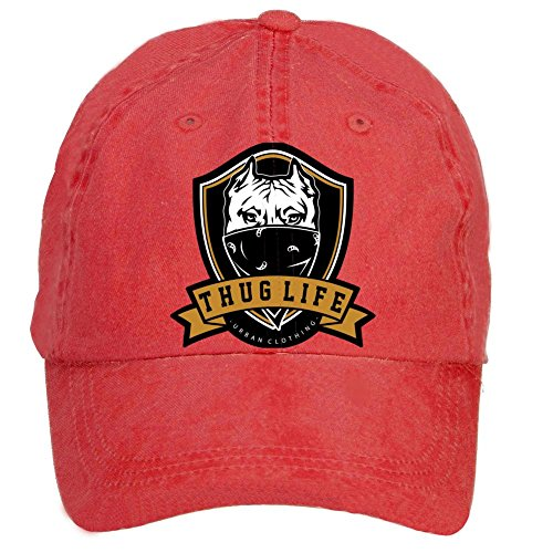 sljd-thug-life-adjustable-washed-baseball-caps