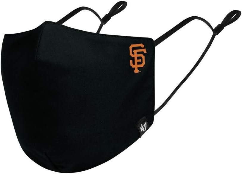47 MLB Team Color Core Adjustable Face Covering Mask, Adult - San Francisco Giants