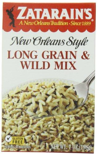 Zatarain's Long Grain & Wild Rice, 7 oz (Case of 12)